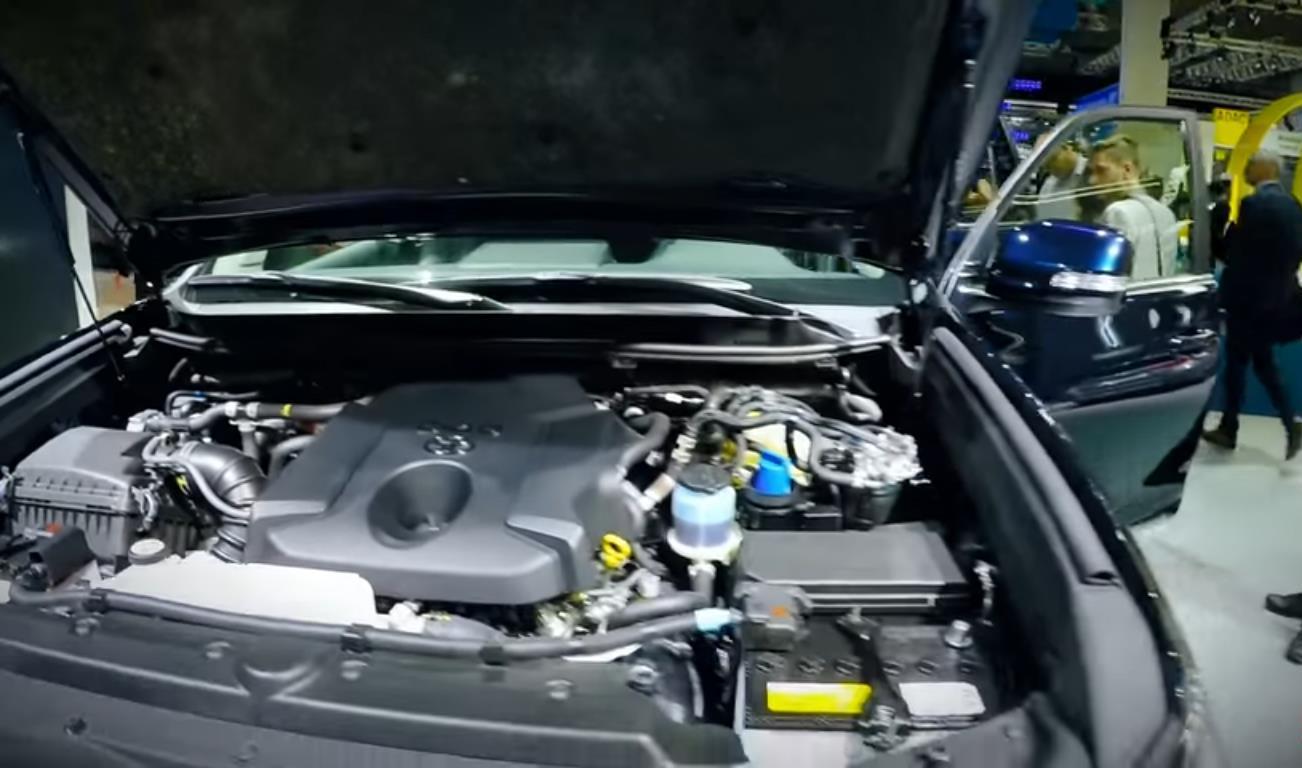 Двигатель нового Прадо 180