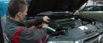 Дизельный ТЛК 200 на техобслуживании
