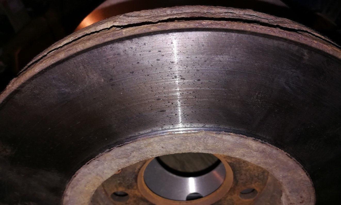 Износ дисков ТЛК Прадо 120