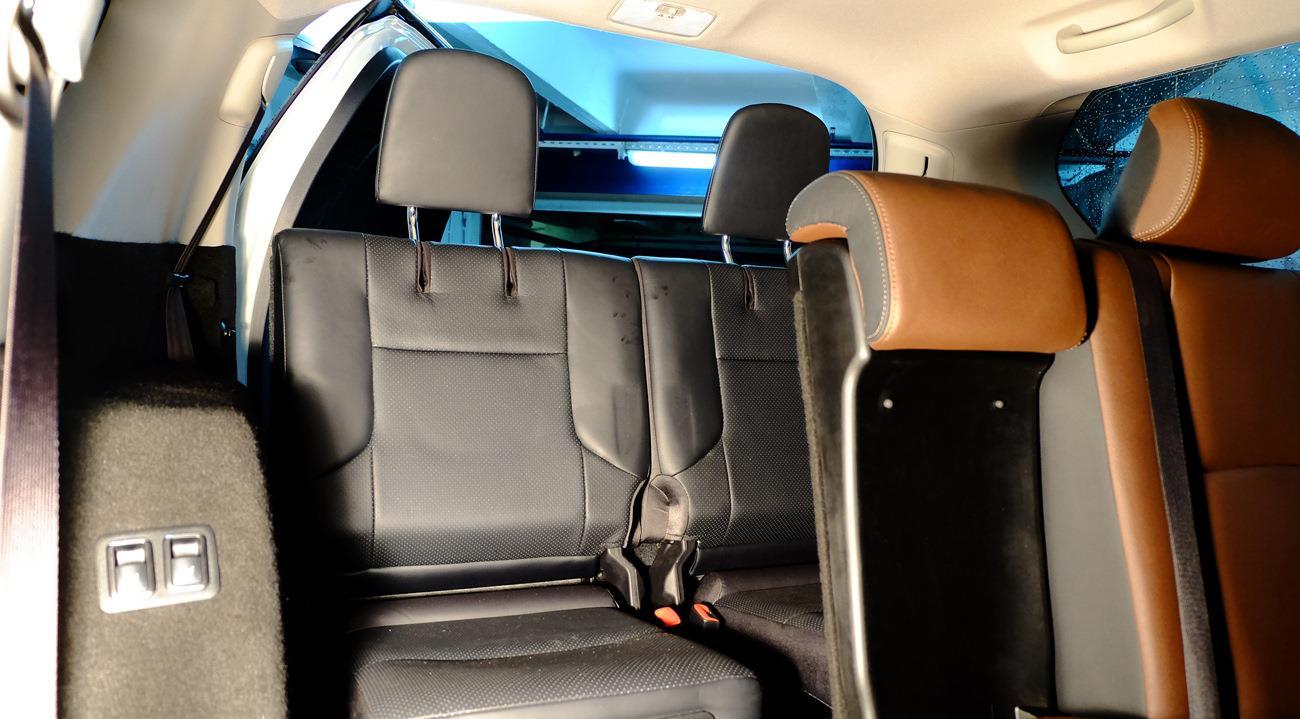 3 ряд сидений Прадо 150