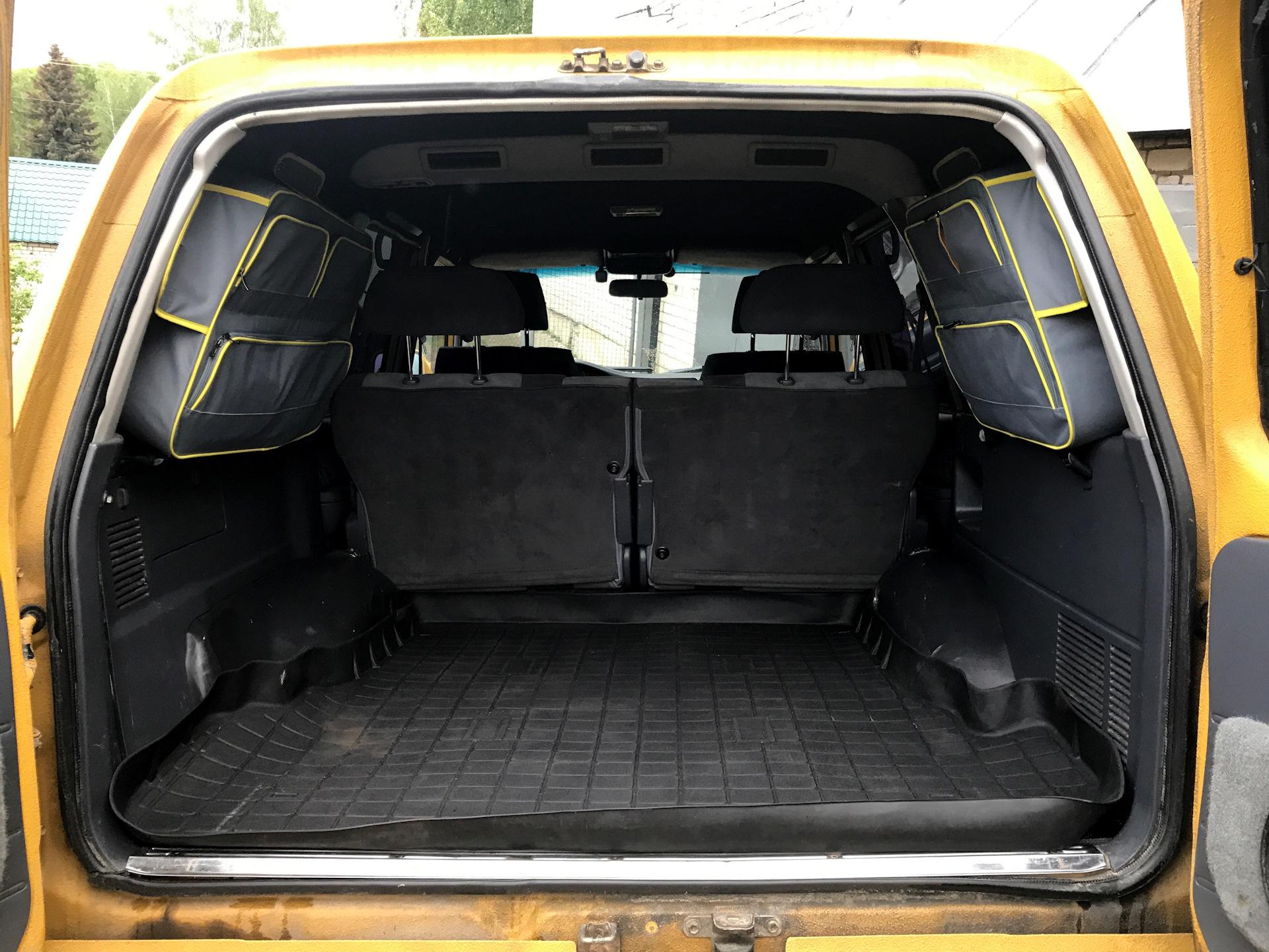 Крузер 80 багажник