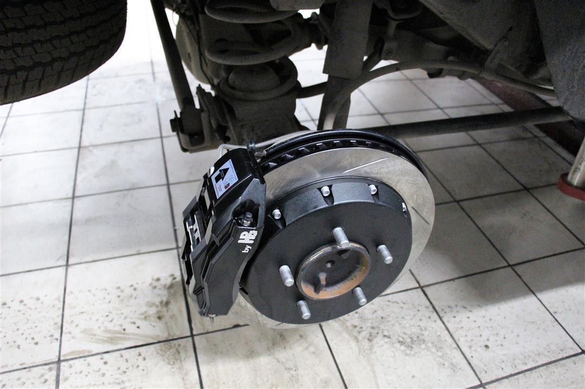 Замена заводских тормозов ТЛК 200