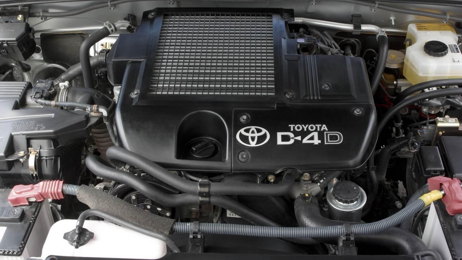 Фото дизельного двигателя Прадо 120