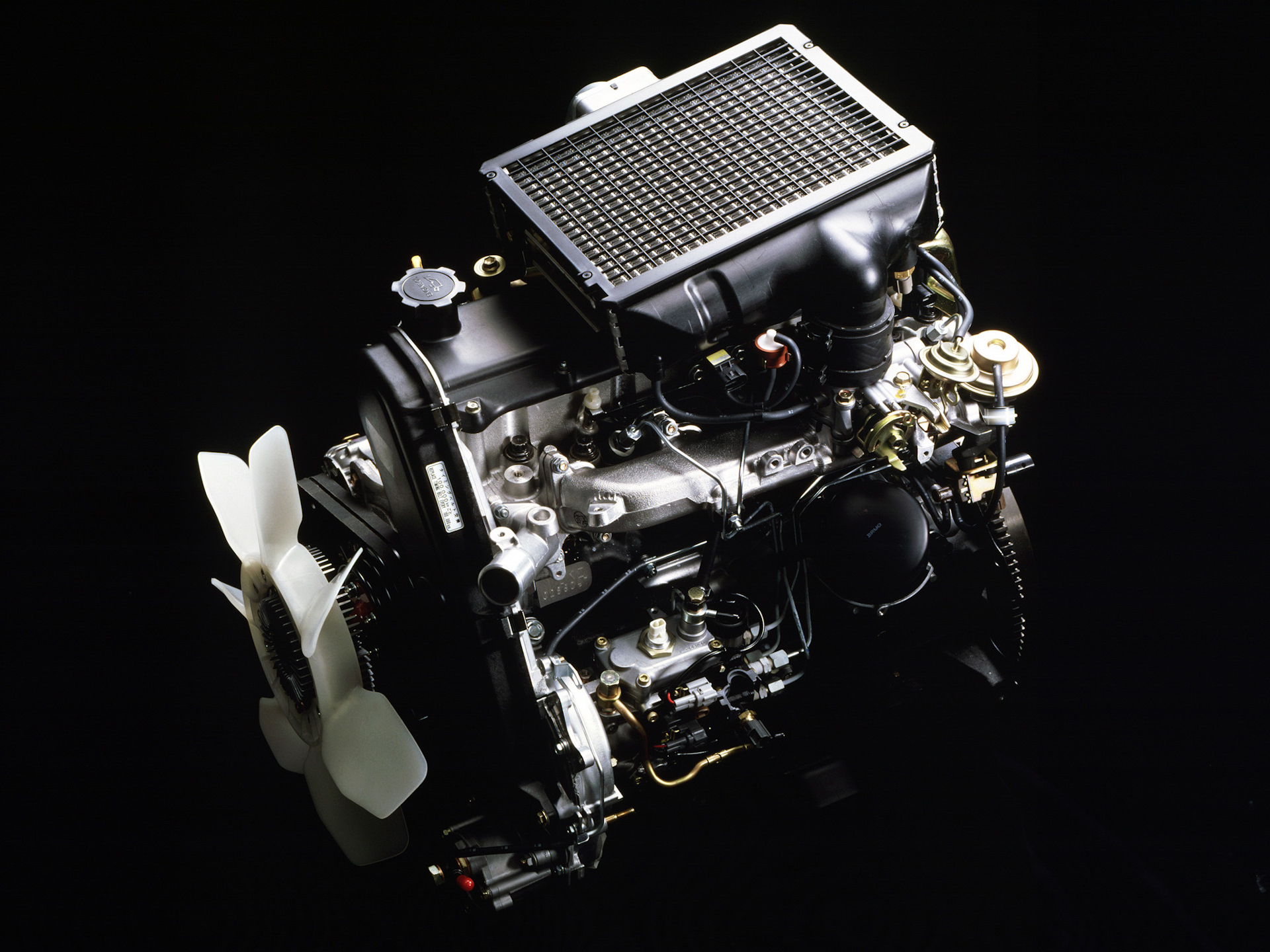Двигатель Ленд Крузера 1KZ-TE