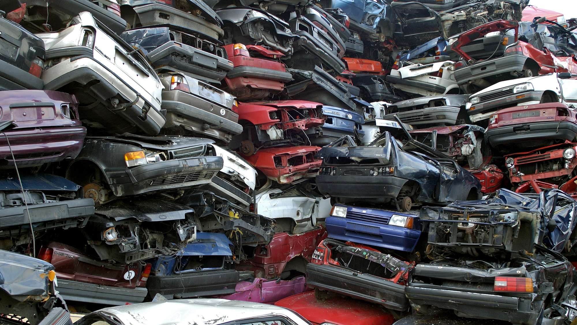 Автомобили на свалке
