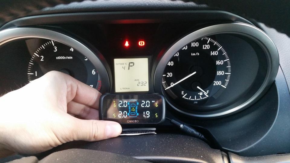 Система контроля давления в шинах Прадо 150