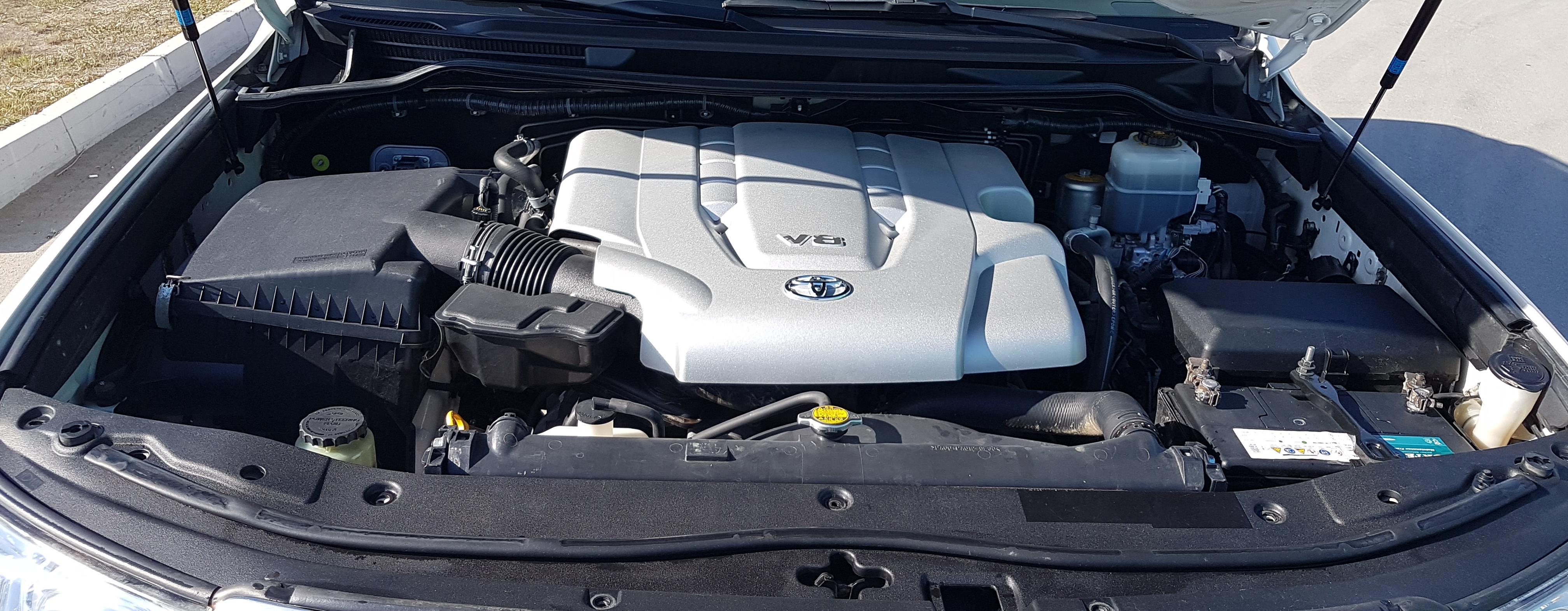 Бензиновый двигатель ТЛК 200