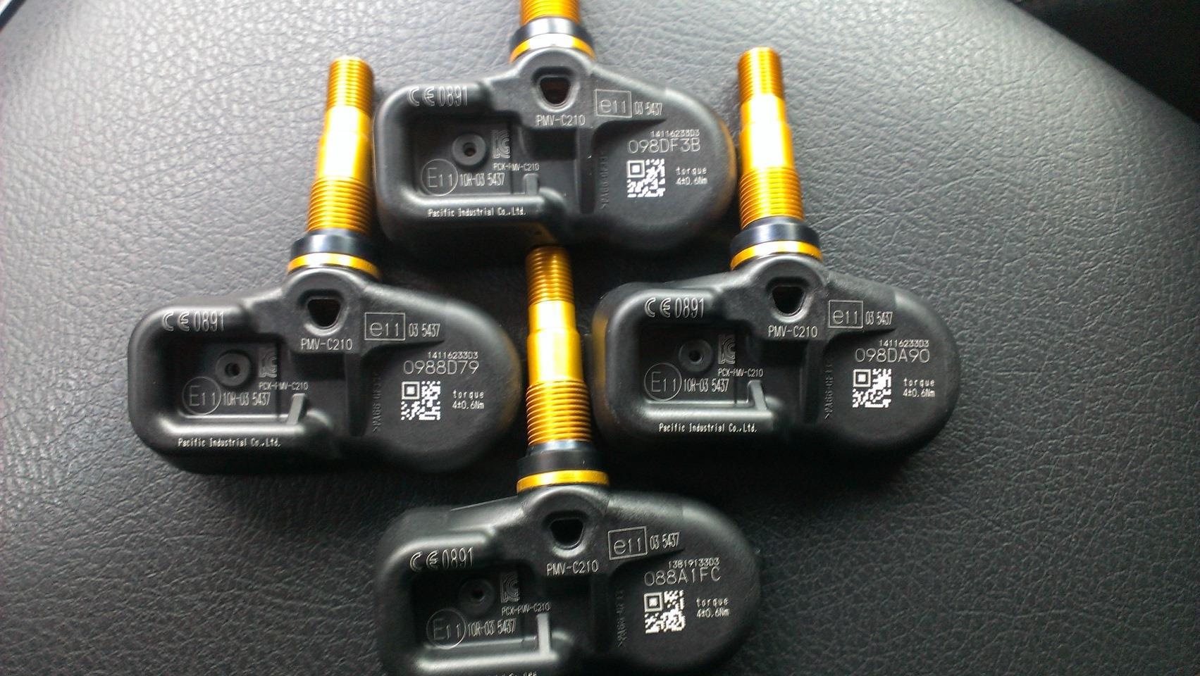 Датчики давления в шинах на Прадо