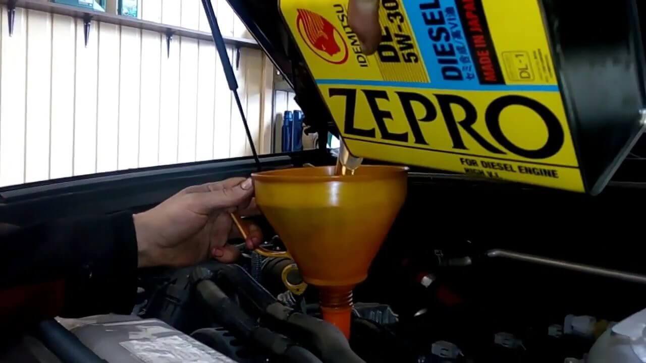 Замена масла ЛК Прадо 150