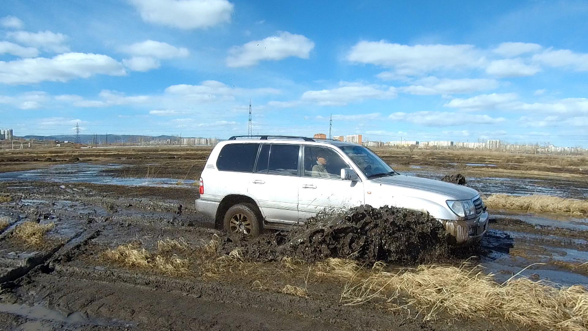 ТЛК 100 по грязи