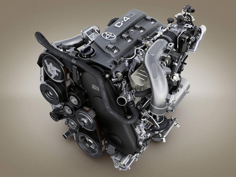 Двигатель Прадо 3л дизель