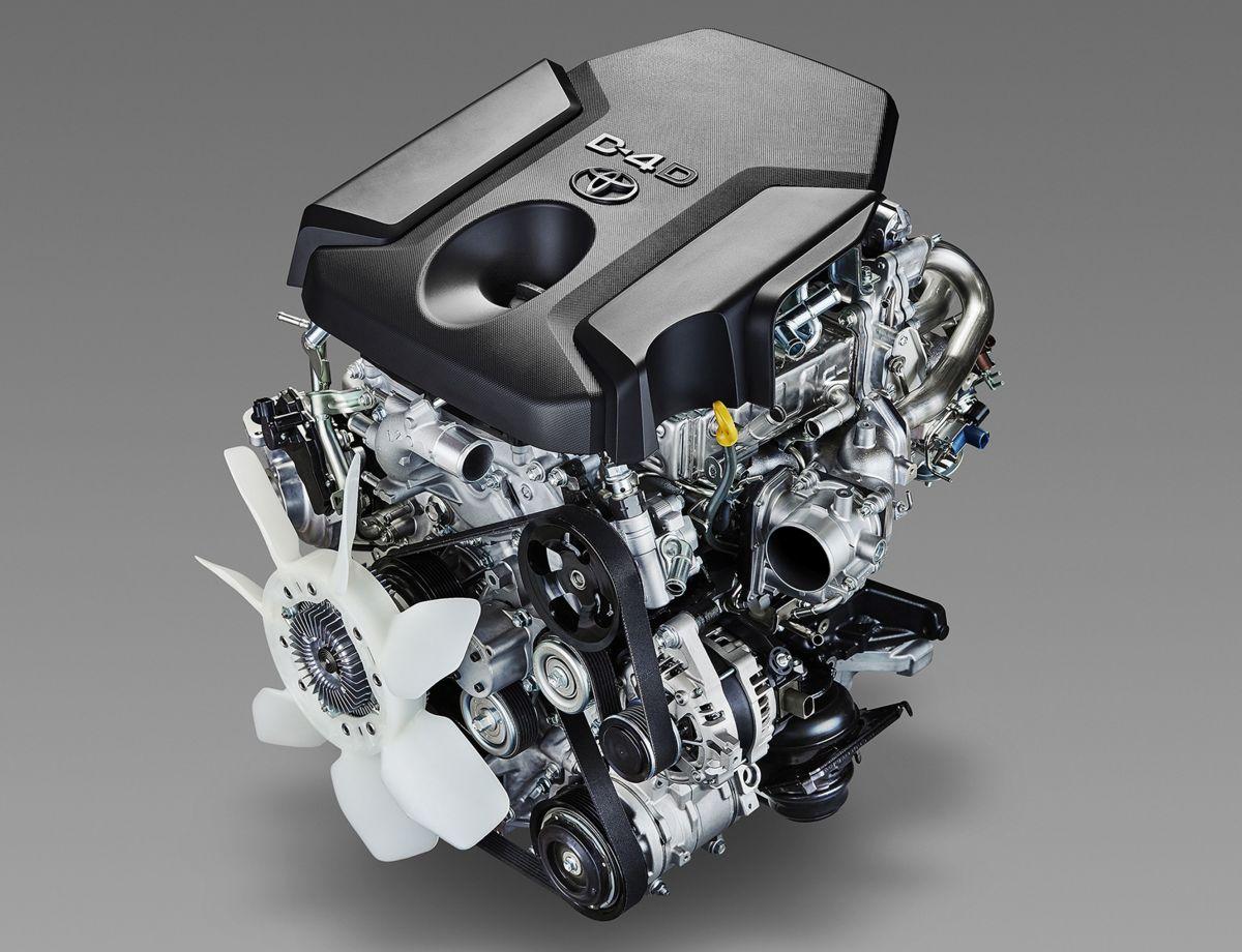 Двигатель Прадо 2.8 л дизель