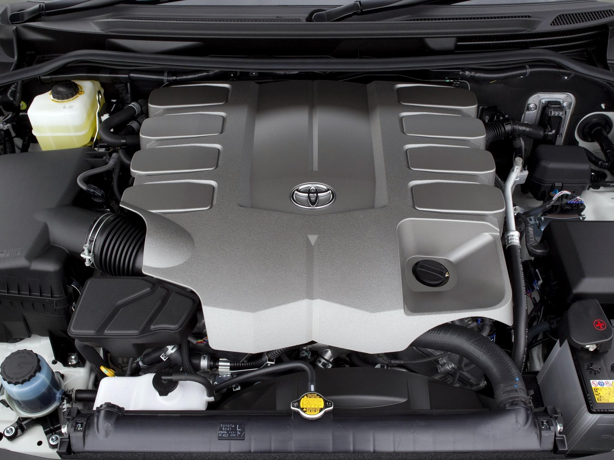 Восьмицилиндровый двигатель тойота