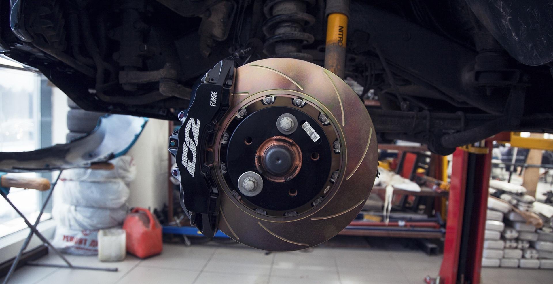 Тюнинг тормозов Прадо 150