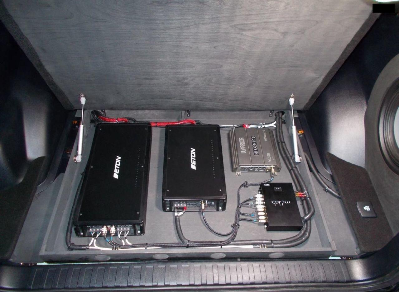 Аудиосистема в Прадо 150