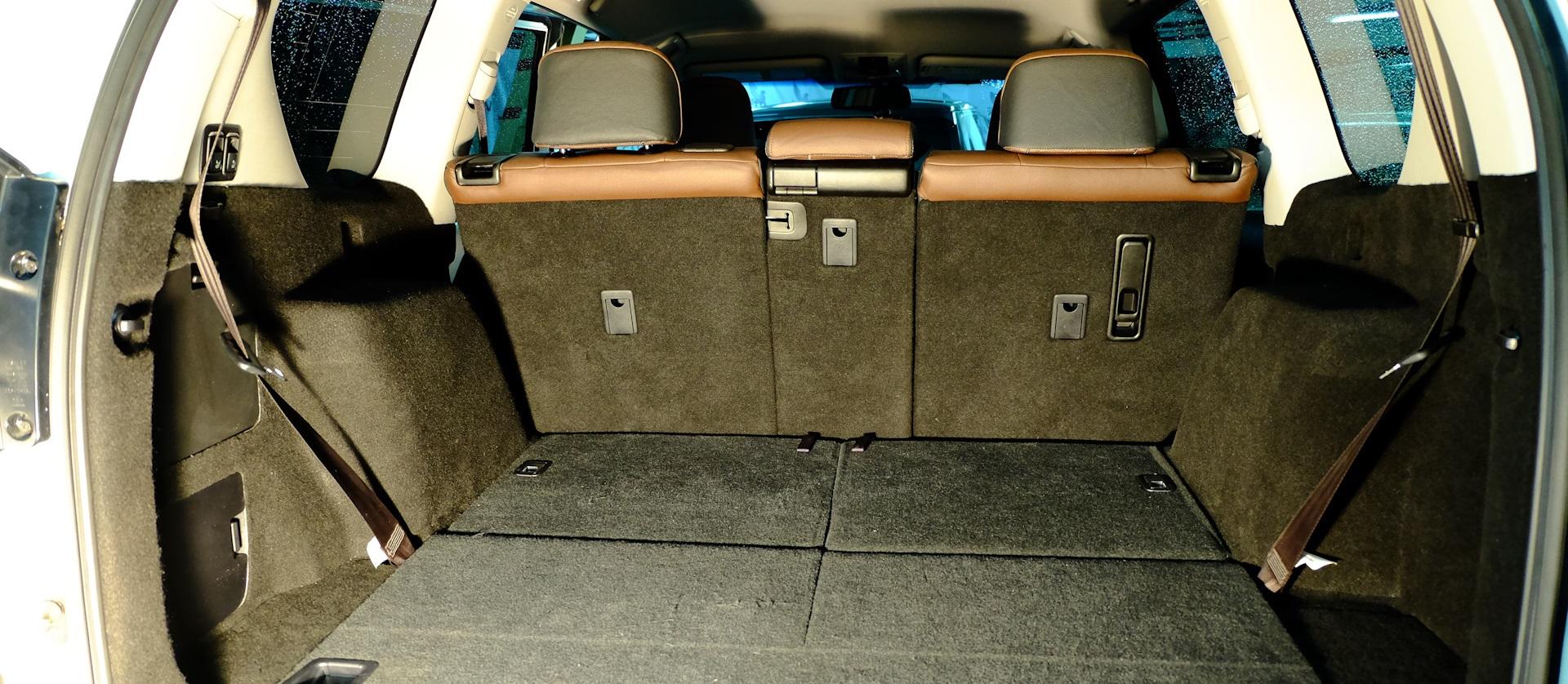 3 ряд сидений ЛК Прадо 150
