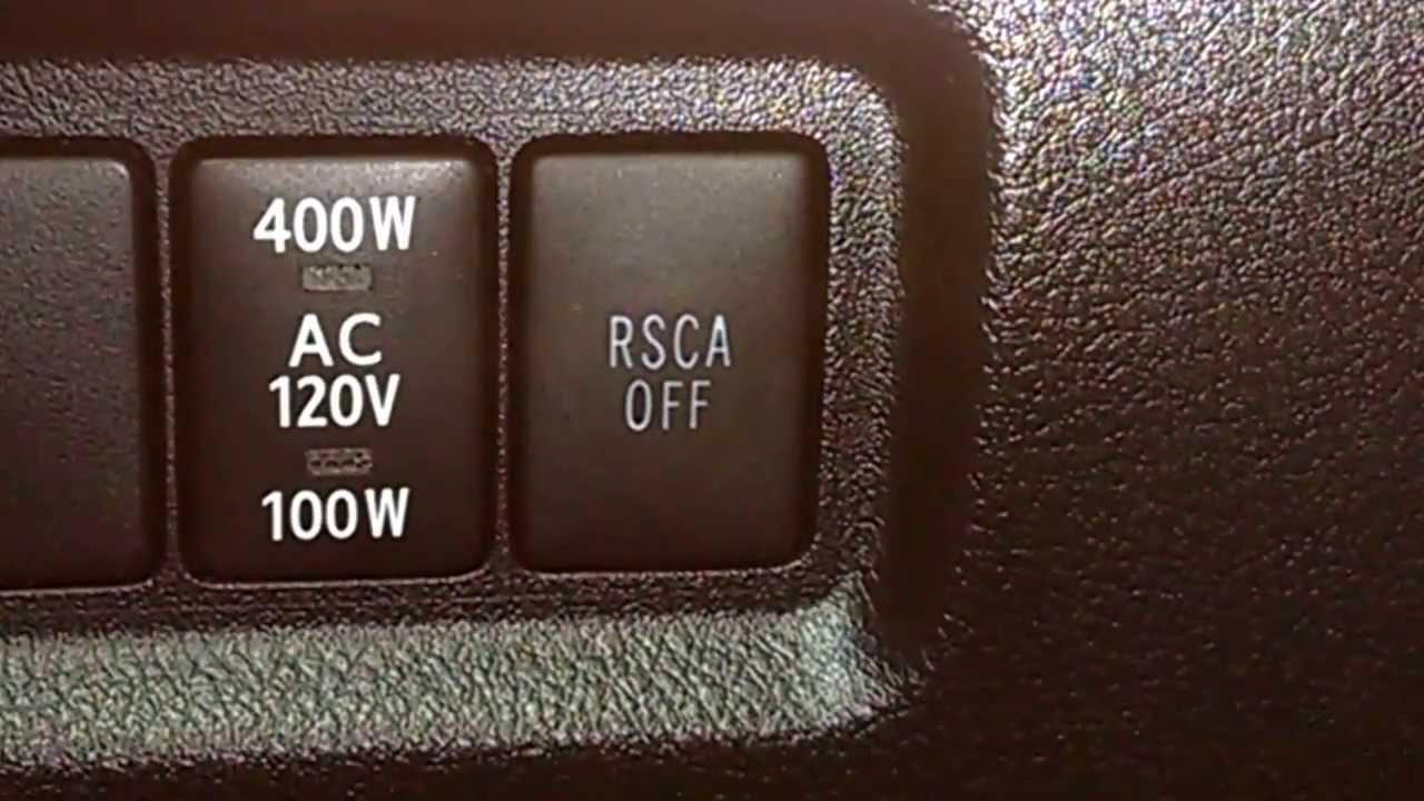 кнопка rsca off тойота лк