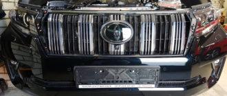 Решетка радиатора на ленд крузер 200