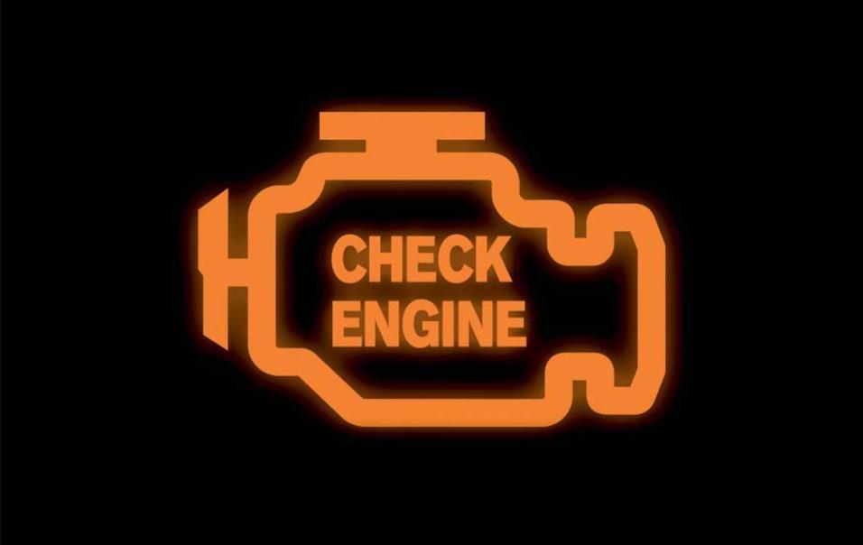 Check engine на Тойота Прадо 120