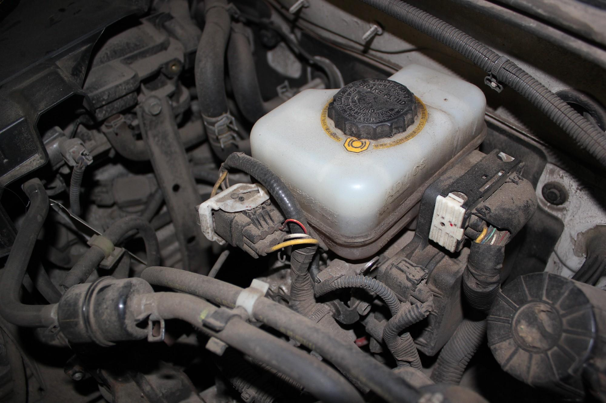 замена тормозной жидкости прадо 150