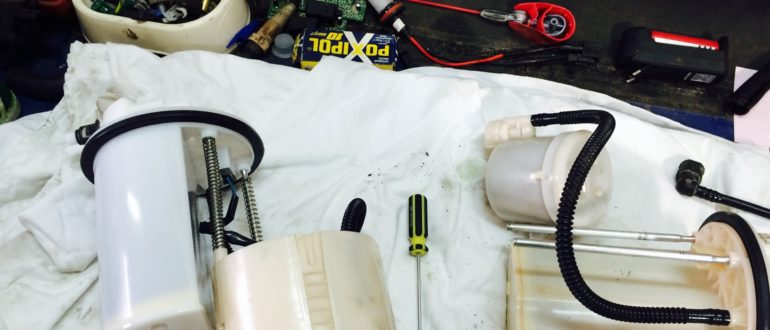 топливный фильтр рав 4
