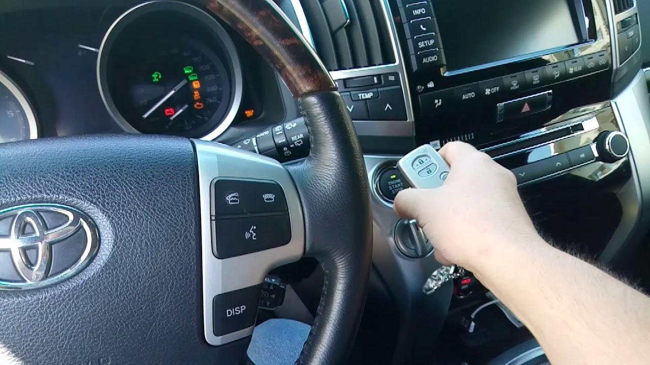 Сброс межсервисного интерваа Тойота Ленд Крузер 200