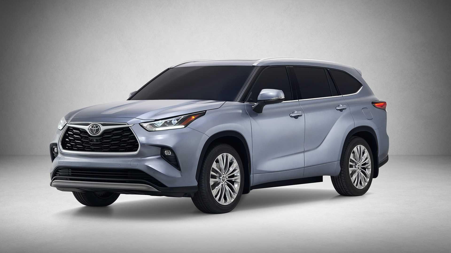 Тойота Хайлендер 2019-2020 в новом кузове фото цена и характеристики обновленной модели от Toyota