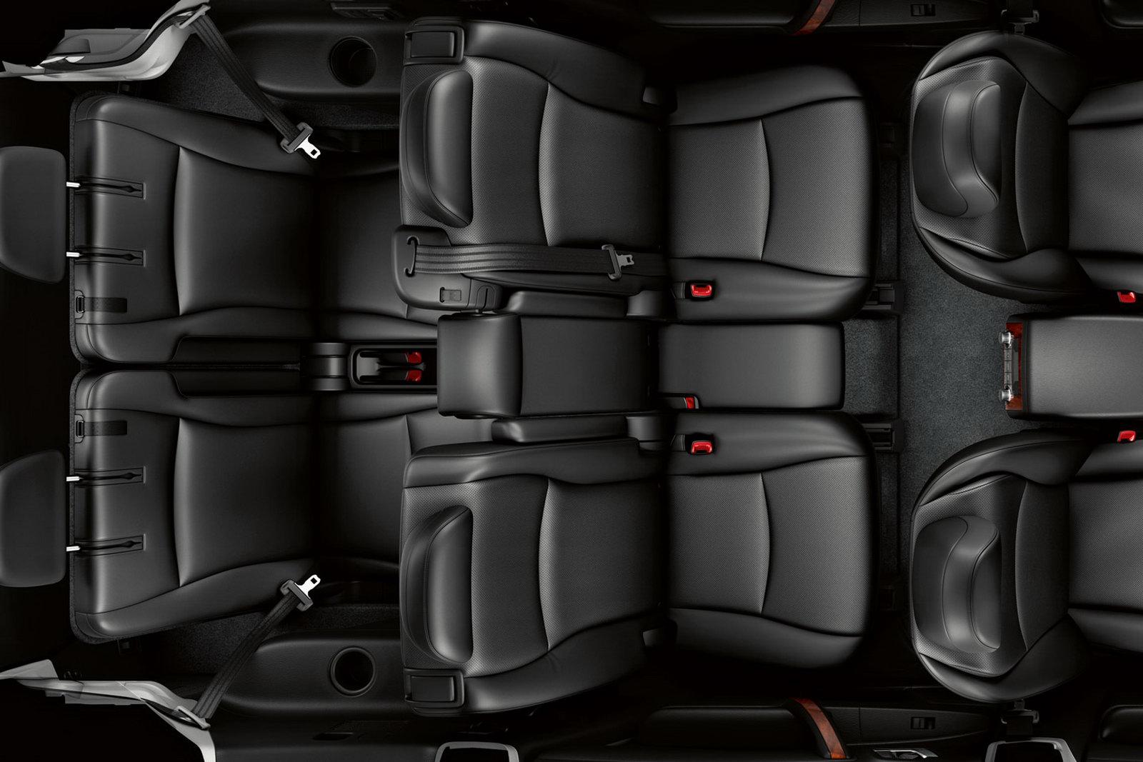 салон Toyota Highlander 2011