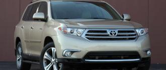 Картинка Toyota Highlander 2011