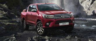 Toyota Hilux фото