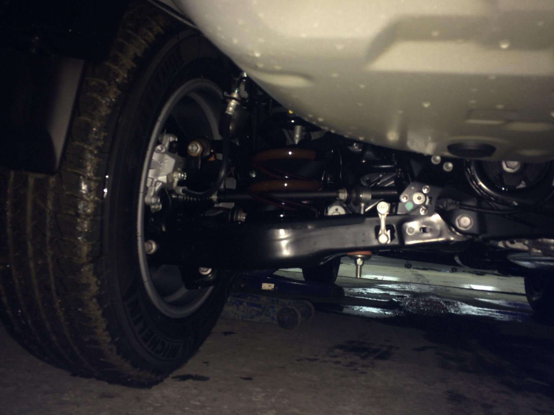 Тойота Рав 4 подвеска