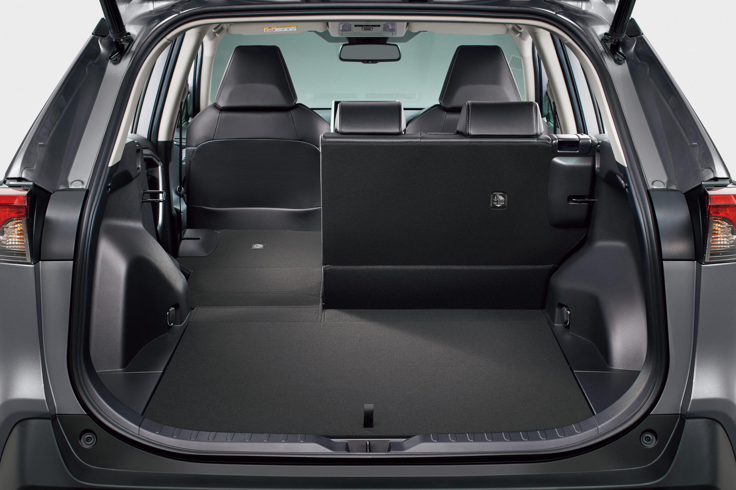 Тойота РАВ 4 2019 багажник