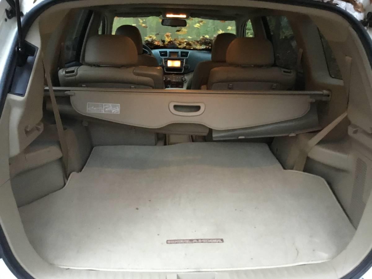 Toyota Highlander 2013 Багажник