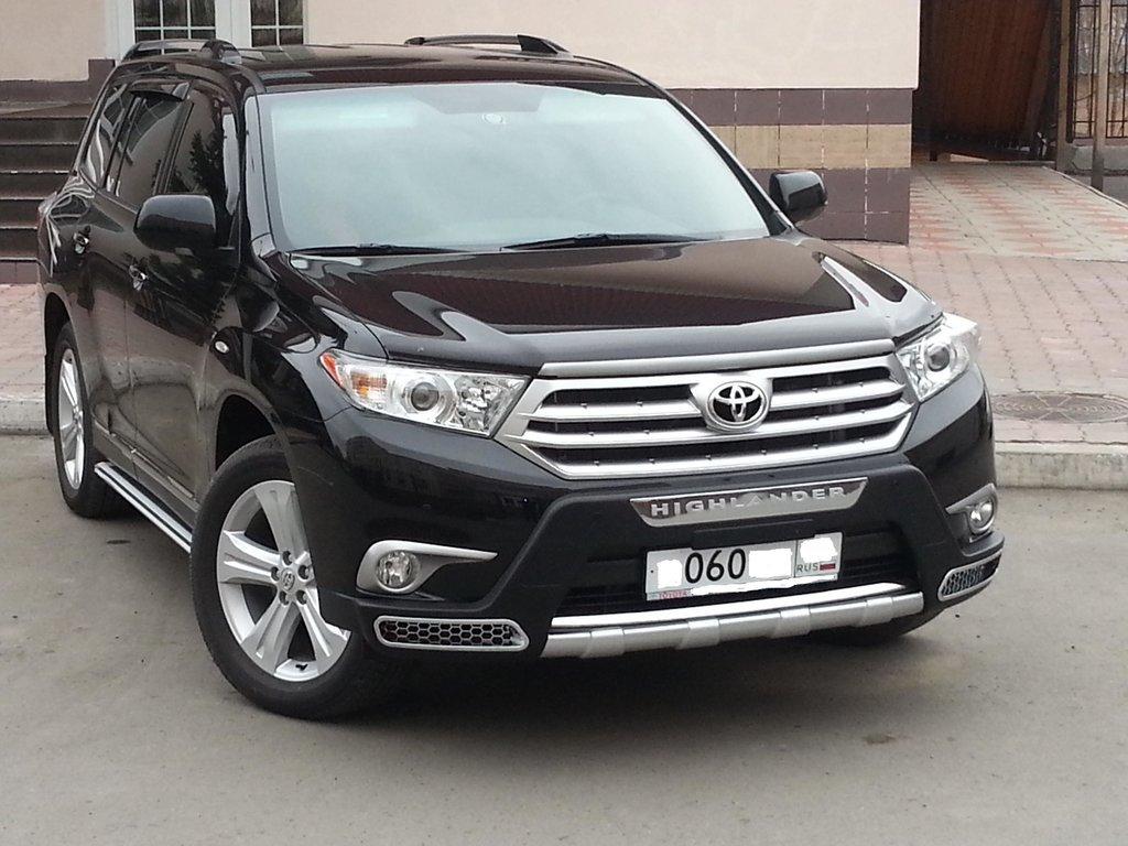 Toyota Highlander 2013 Люкс