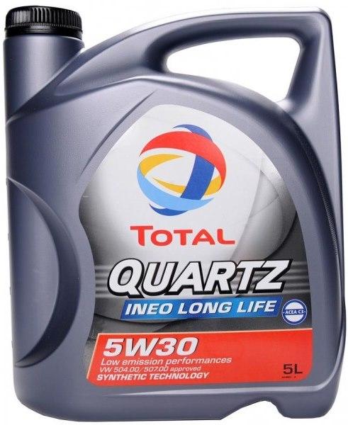Total Quartz INEO Long Life 5W-30, Rubia TIR 9900 FE 5W-30.